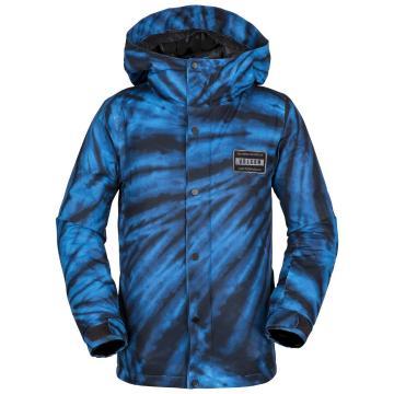 Volcom 2019 Boy's Ripley Ins Jacket - Blue Tie-Dye