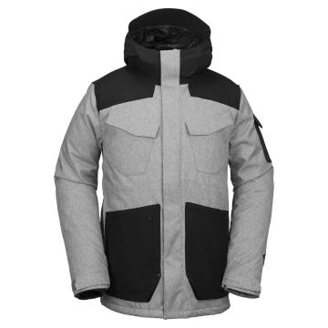 Volcom 2019 Men's Vco Inferno Jacket - Heather Grey