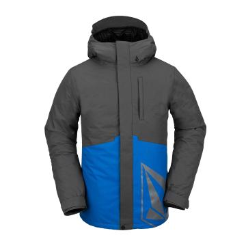 Volcom 2021 Men's 17Forty Insulated Jacket - Cyan Blue