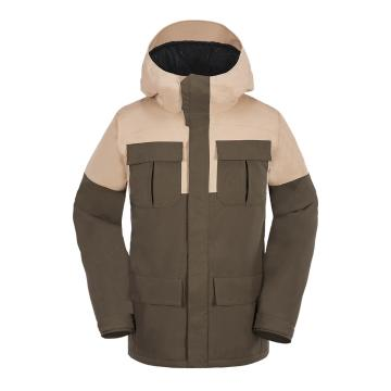 Volcom 2018 Men's Alternate 15k Snow Jacket - Teak