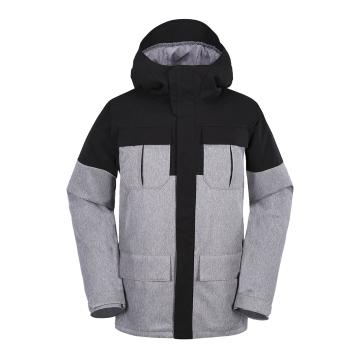 Volcom 2018 Men's Alternate 15k Snow Jacket - Heather Grey