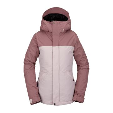 Volcom 2021 Women's Bolt Insulated Jacket - Faded Pink