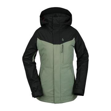Volcom 2021 Women's Pine 2L TDS Jacket - DUSTY GREEN
