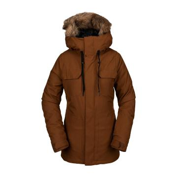 Volcom 2021 Women's Shadow Insulated Jacket - Copper