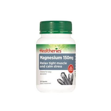 Healtheries Magnesium 150mg - 120 Caps