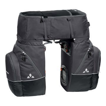 Vaude Karakorum Pannier Bag Set - Black