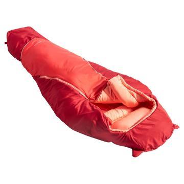 Vaude Alpli Adjust 400 Syn Jr Sleeping Bag - Dark Indian Red
