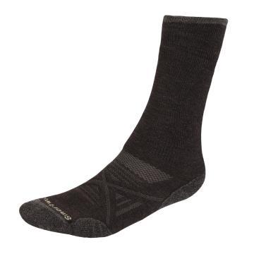 Smartwool Unisex PhD Outdoor Medium Crew Socks - Chestnut