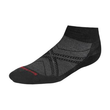 Smartwool Men's PhD Run Light Elite Low Cut Socks - Black
