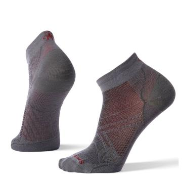 Smartwool Men's PhD Run Ultra Light Low Cut Socks - Graphite