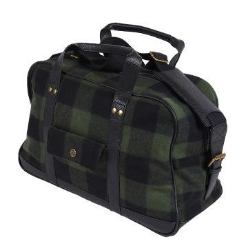 Swanndri Wool Overnight Bag - Olive/Black