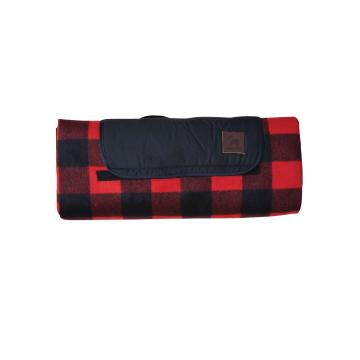 Swanndri Picnic Blanket - Red/Black Check