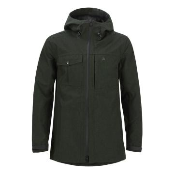 Swanndri Men's Torrent 3 Layered Rain Shell Jacket