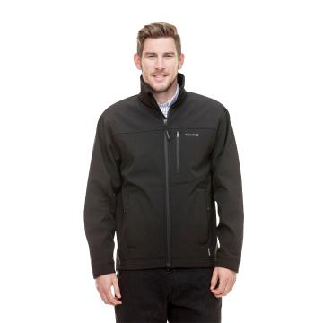Swanndri Men's Softshell Jacket - Black