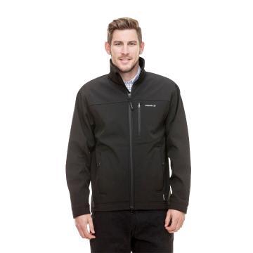 Swanndri Men's Softshell Jacket - Black