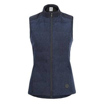 Swanndri Women's Geraldine Hybrid Wool Down Vest - Topaz/Cobalt
