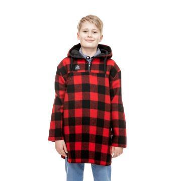 Swanndri Kid's Brixton Bush Shirt - Red/Black