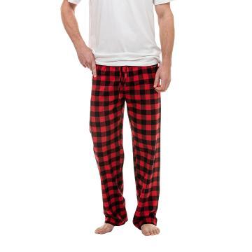 Swanndri Men's Westend Sleep Pants - Red/Black