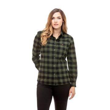 Swanndri Women's Monaco Shirt - Olive/Black Check
