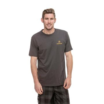 Swanndri Men's Off-Trail Tee Shirt - Dark Grey