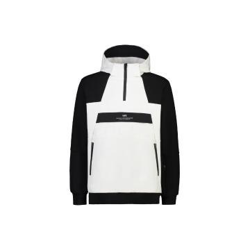 ilabb Men's Softshell Arrow Jacket  - Off White/Black