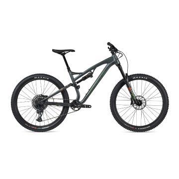 Whyte Bikes 2021 T-140S MTB - Mat Granite-Clover/Brnt Orange