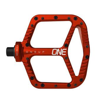 Oneup Flat Pedal Aluminum - Red