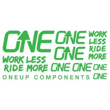 Oneup Decal Kit - Green
