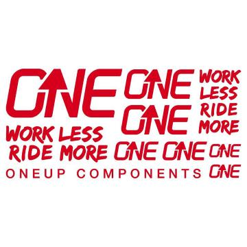 Oneup Decal Kit - Red