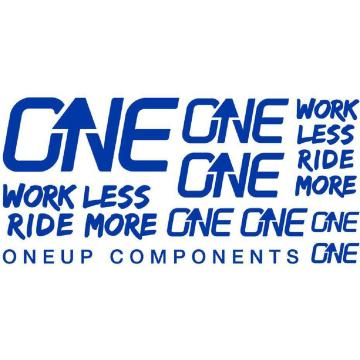 Oneup Decal Kit - Blue