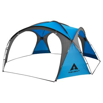 Ascent Cabana 4.5 x 4.5 Shelter - Cyan