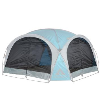 Ascent Cabana 4.5 x 4.5 Mesh Side Walls - 2pc - Light Grey