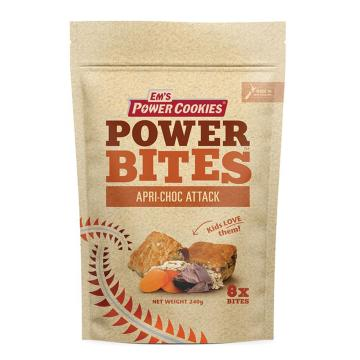 Em's Power Cookies Power Cookie - Bites 8 Pack - Apricot Choc Attack