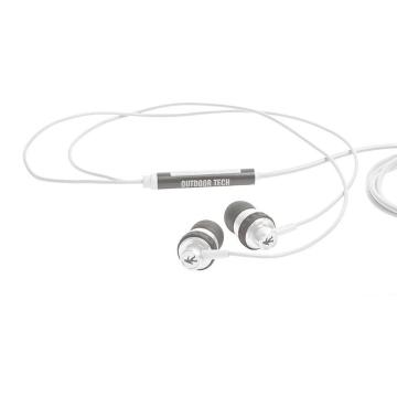 Outdoor Tech Minnow - Wired Earbuds - Grey