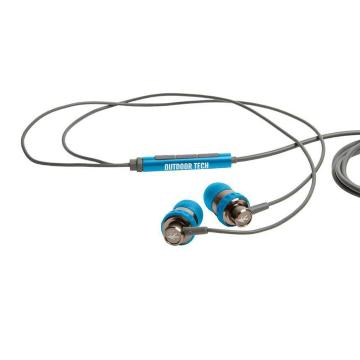 Outdoor Tech Minnow - Wired Earbuds - Blue