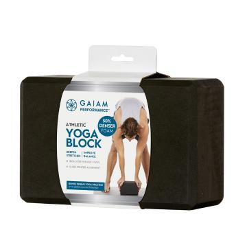 Gaiam Athletic Yoga Block