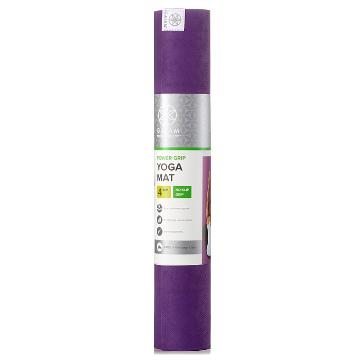 Gaiam Sol Power Grip Yoga Mat 4mm