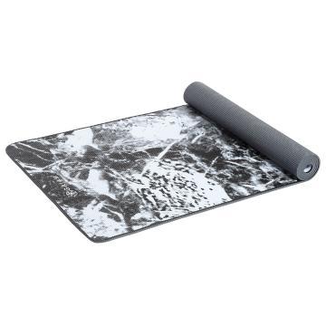 Gaiam Yoga Mat Black Marble 6.0mm