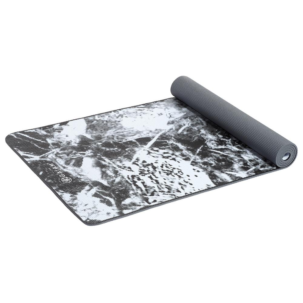 Yoga Mat Black Marble 6.0mm