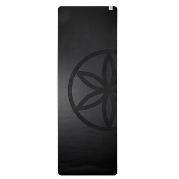 Gaiam Yoga Mat Dry Grip Black