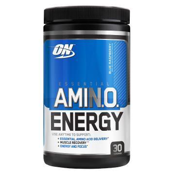 Optimum Nutrition Amino Energy - 30 Srv - Blue Raspberry