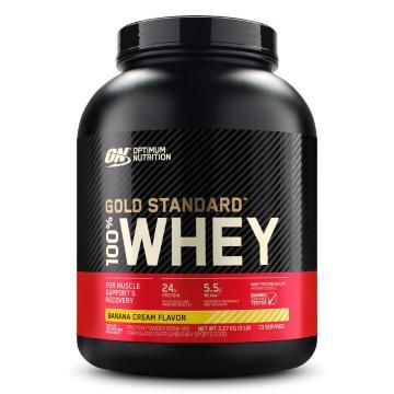 Optimum Nutrition Gold Standard Whey Protein - 5lb - Banana