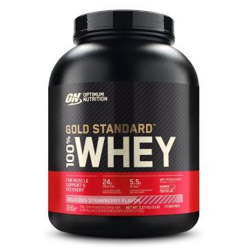 Optimum Nutrition Gold Standard Whey Protein - 5lb - Strawberry