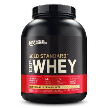 Optimum Nutrition Gold Standard Whey Protein - 5lb -  French Vanilla