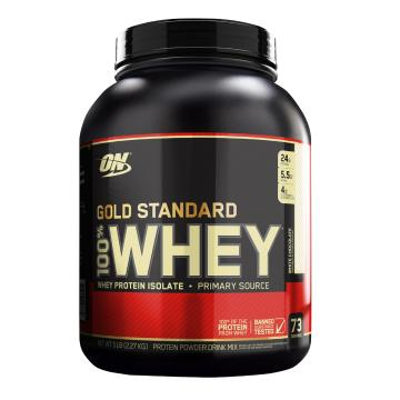 Optimum Nutrition Gold Standard Whey Protein - 5lb - White Chocolate