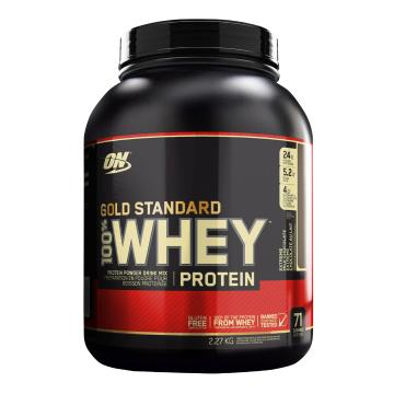 Optimum Nutrition Gold Standard Whey Protein - 5lb - Extreme Milk Chocolate