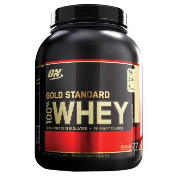 Optimum Nutrition Gold Standard Whey Protein - 5lb - Vanilla Ice Cream