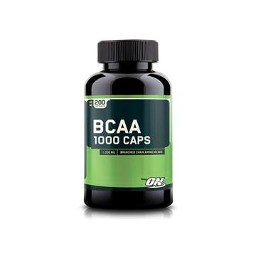 Optimum Nutrition BCAA 1000 Supplement - 200 Caps