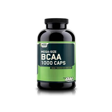 Optimum Nutrition BCAA 1000 Supplement - 400 Caps