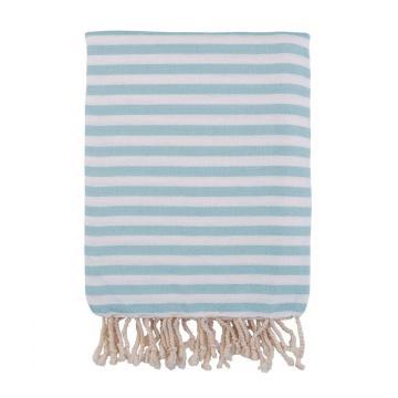 Barine Home 2021 Herringbone Turkish Towel - Mint
